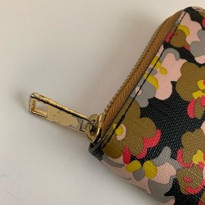 Fossil Bags - Fossil Womens Wallet Zip Around Accordion Floral